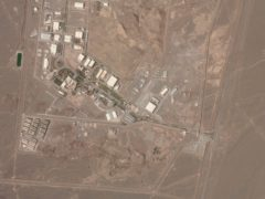 A satellite photo from Planet Labs shows Iran's Natanz nuclear facility (Planet Labs Inc via AP)