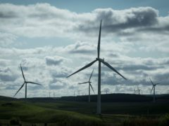 Scottish Greens want to double the capacity of the onshore wind sector (Danny Lawson/PA)