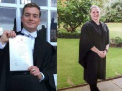 Jack Merritt and Saskia Jones were killed by convicted terrorist Usman Khan (PA)