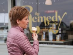SNP leader Nicola Sturgeon stressed the need for the Covid-19 recovery to be in 'Scotland's hands', (Russell Cheyne/PA)