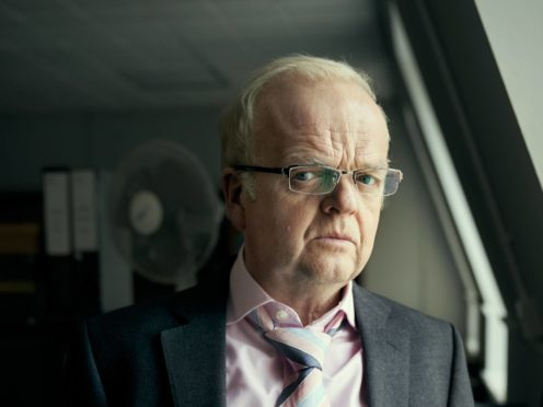 Toby Jones as Phil Shiner (Robert Viglasky/Extraction TV/BBC/PA)