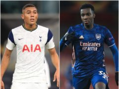 Carlos Vinicius and Eddie Nketiah feature in today's transfer speculation (Adam Davy/Adam Davy/PA)