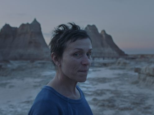 Frances McDormand in Nomadland (20th Century/PA)