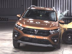The Sandero has scored just two stars in recent crash tests