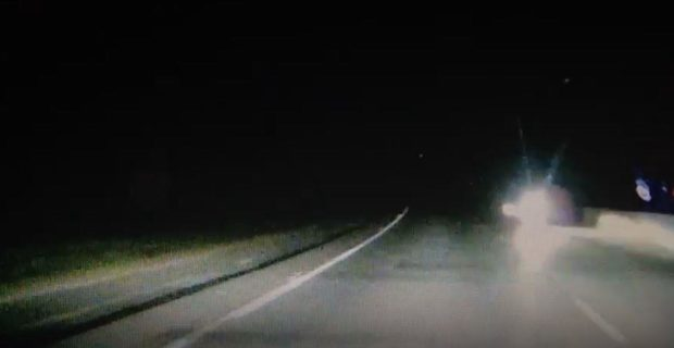 'Someone could have been killed': Watch as driver speeds down wrong side of A90
