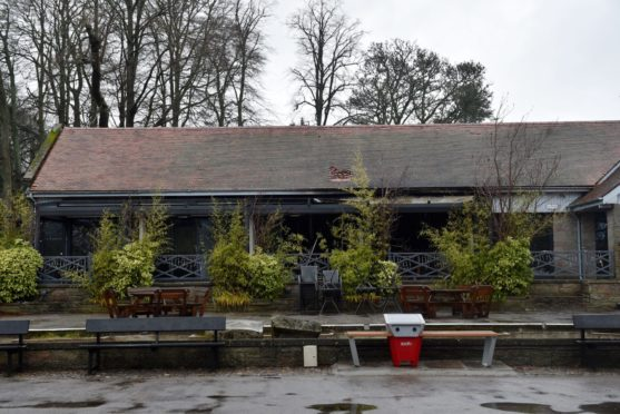 Owner of Hazlehead Park cafe destroyed in deliberate blaze says 'smirking' youths continue to torment her