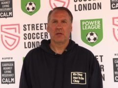 Paul Merson says his desire to live gave him the strength to speak up about his battles with addiction and depression (PA).