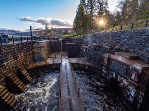 The Katrine Aqueduct serves more than 1.3 million people (SNS/Scottish Water/PA)
