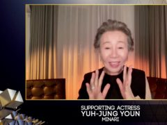 Yuh-Jung Youn wins supporting actress for Minari (Bafta/PA)