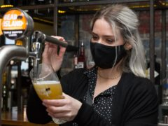Shepherd Neame started to serve pints at more than 200 pubs last week (Shepherd Neame/PA)