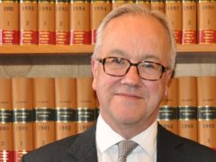 Sir John Mitting is chairing the inquiry into undercover policing (Undercover Policing Inquiry/PA)