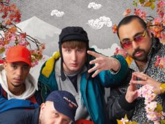 The Kurupt FM crew take on Japan in the first trailer for the upcoming People Just Do Nothing film (PA/BBC)