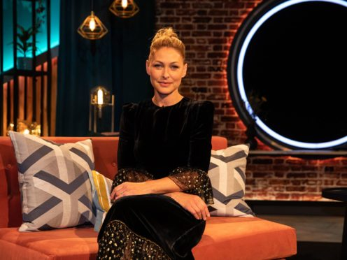 Emma Willis hosted The Circle (Channel 4)