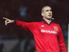 Former Manchester United forward Eric Cantona has been inducted into the Premier League Hall of Fame (Getty Images)