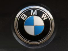 A BMW logo (David Cheskin/PA)