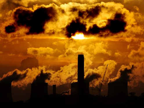 Analysis warned that some governments were still building coal-fired power plants (Rui Vieira/PA)