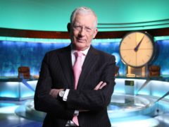 Nick Hewer on Channel 4's Countdown (Mark Johnston/Channel 4/PA)