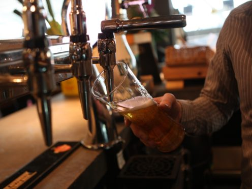 Pubs reopened for indoor service on Monday (PA)