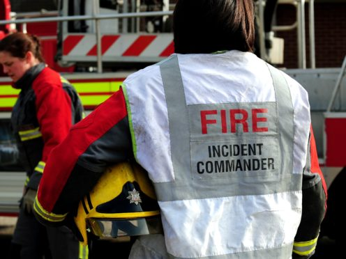 A gas explosion has rocked a residential area in Heysham, Lancashire, with reports up to three homes have been destroyed (PA)