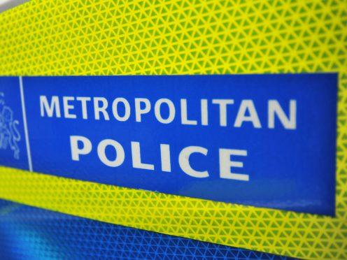 General view of a Metropolitan Police sign (Andrew Matthews/PA)
