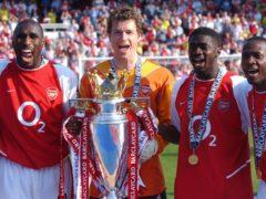 Arsenal went unbeaten in the league in the 2003–04 season (Sean Dempsey/PA)