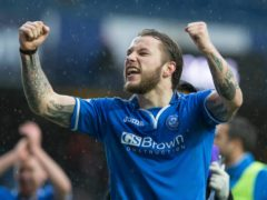Stevie May was St Johnstone's semi-final hero back in 2014 (Jeff Holmes/PA)
