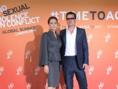 Brad Pitt has been granted joint custody of his five underage children with Angelina Jolie in a tentative ruling, the PA news agency has confirmed (Stefan Rousseau/PA)