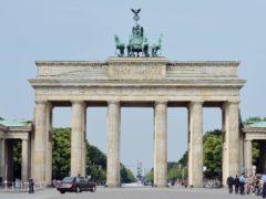 The Brandenburg Gate in Berlin (PA)