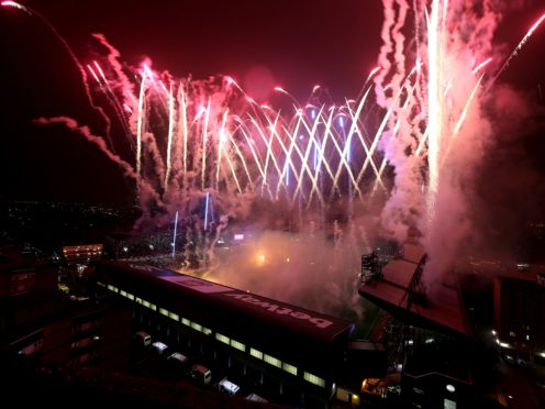 Fireworks went off after West Ham played their final match at Upton Park on this day in 2016 (Adam Davy/PA)