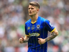 Former AFC Wimbledon midfielder Jake Reeves made the breakthrough for Notts County (Mike Egerton/PA)