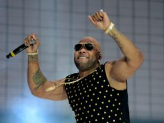 Flo Rida (Ryan Phillips/PA)