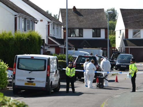 The incident occurred in the Trench area of Telford (Joe Giddens/PA)
