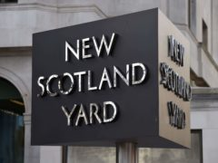 The four men have been released on bail, Scotland Yard said (Kirsty O'Connor/PA)