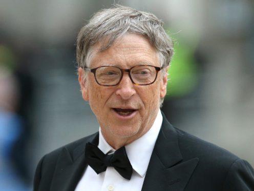 Bill Gates (Jonathan Brady/PA)