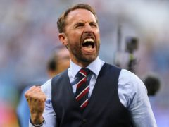 Gareth Southgate has told England not to fear their ambition of winning the European Championship (Owen Humphreys/PA)