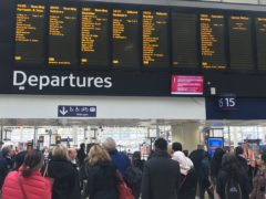 The review by Mr Shapps, and former British Airways chief executive Keith Williams, will lead to the creation of Great British Railways (PA)