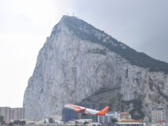 Gibraltar has announced it will not require UK tourists to be tested for coronavirus when foreign holidays resume (Simon Galloway/PA)