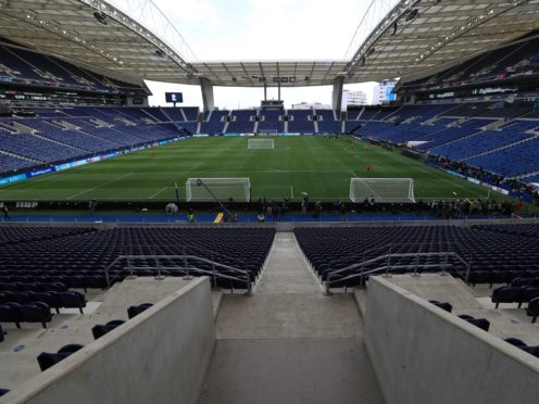 The Estadio do Dragao in Porto could host this month's Champions League final (Mike Egerton/PA)