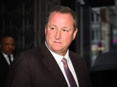 Mike Ashley wants to sell Newcastle (Kirsty O'Connor/PA)