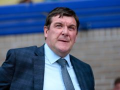 Tommy Wright's side are back in the danger zone (Graham Stuart/PA)
