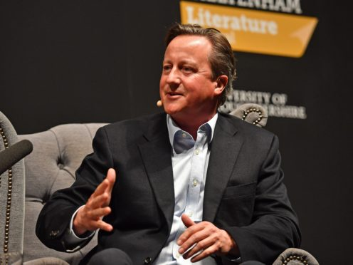 David Cameron is at the centre of the Greensill lobbying controversy (Jacob King/PA)