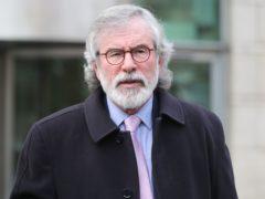 Former Sinn Fein president Gerry Adams (Niall Carson/PA)