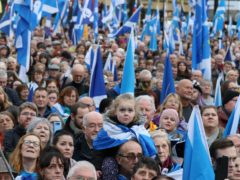 The Radical Independence Campaign plans civil disobedience to push its case for Scottish independence (PA)