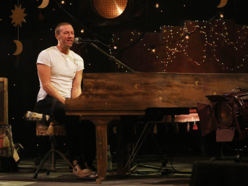 Coldplay lead singer Chris Martin (Isabel Infantes/PA)