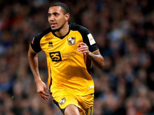 Port Vale's Cristian Montano is joining Livingston (Martin Rickett/PA)