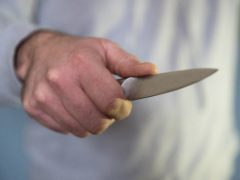 The Metropolitan Police said officers had seized 411 knives (Andrew Matthews/PA)
