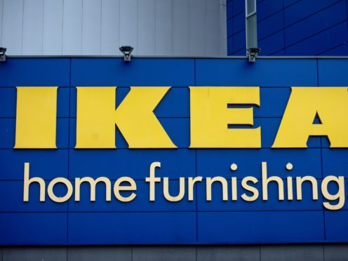 IKEA has launched its Buy Back scheme for second-hand furniture (Jacob King/PA)