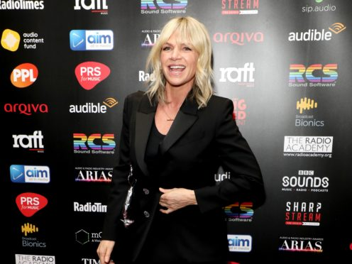Zoe Ball has announced she is leaving Strictly Come Dancing spin-off It Takes Two (Lia Toby/PA)