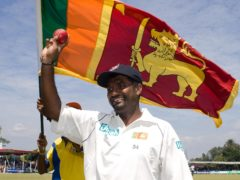 Muttiah Muralitharan has twice held the record for the most Test wickets (Gareth Copley/PA)
