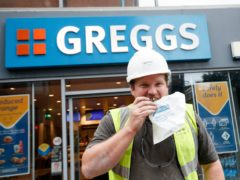 Greggs said sales have bounced back since non-essential retail reopened (Danny Lawson/PA)